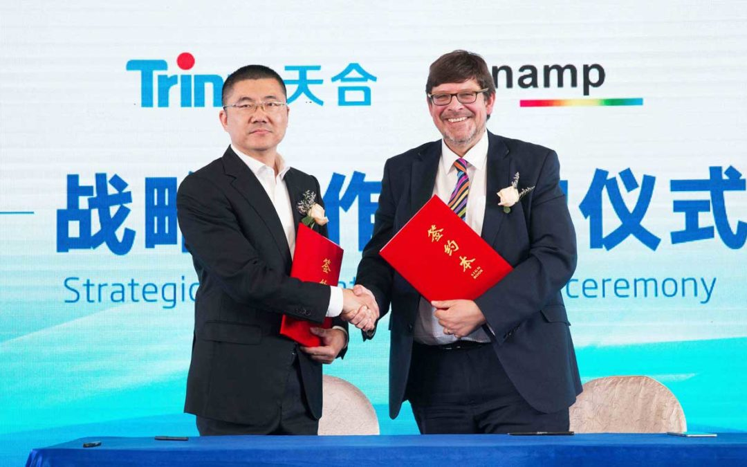 Sunamp and Trina Solar sign MoU to collaborate on energy saving solution for global market